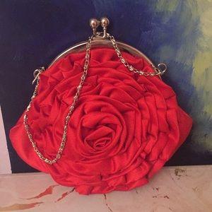 Bags - Rose Clutch